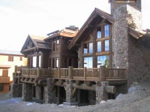 Custom home located at Eagle Lodge and Chair 15