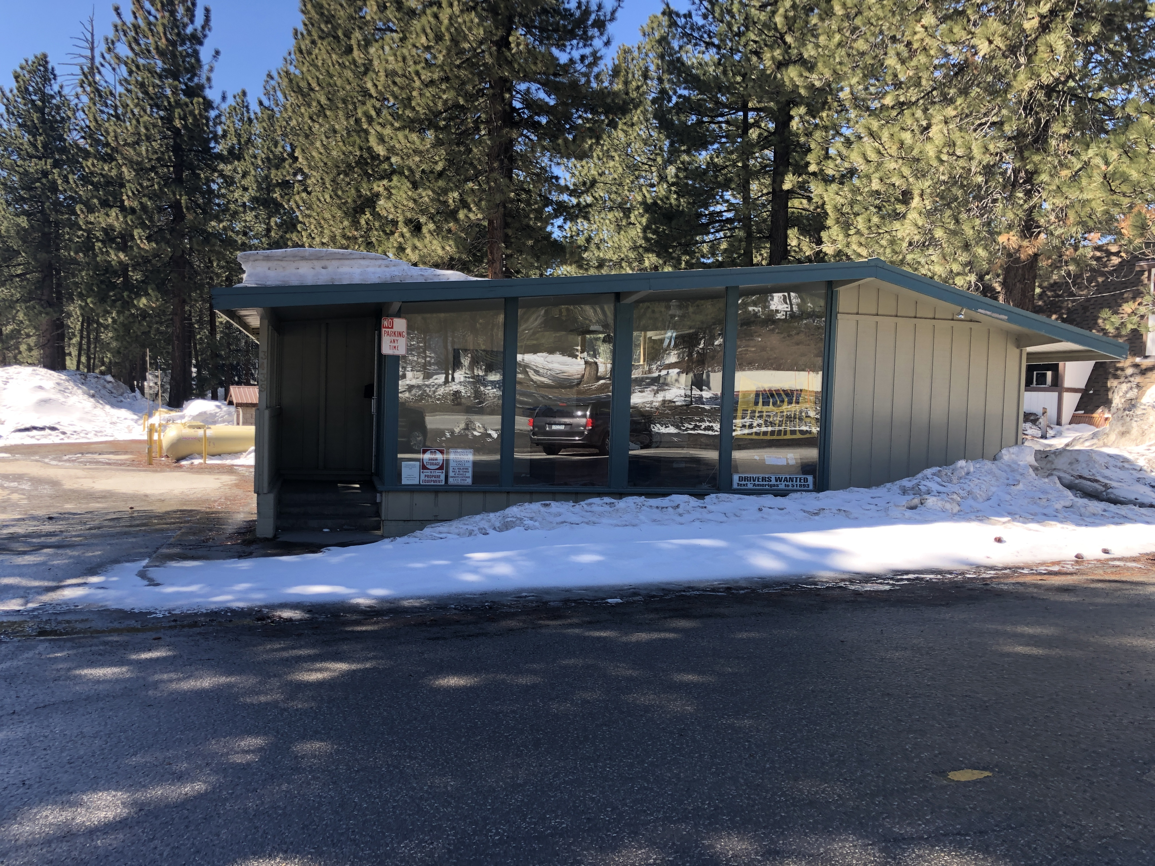 Front Propane Building