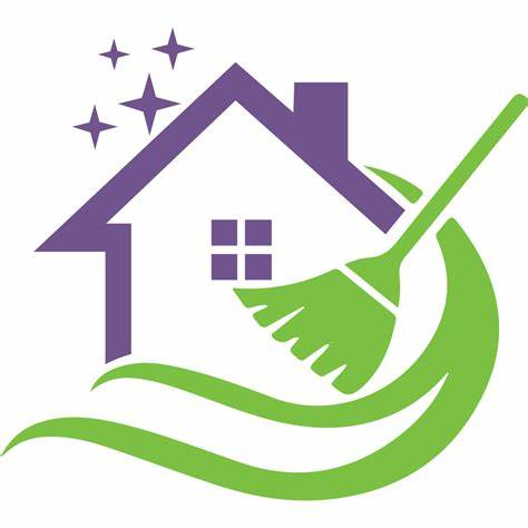 House cleaning logo
